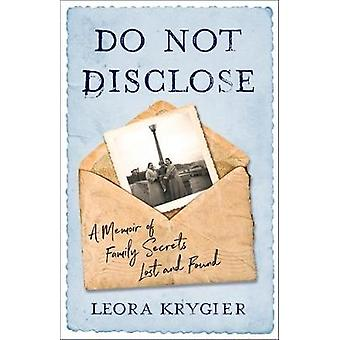 Do Not Disclose