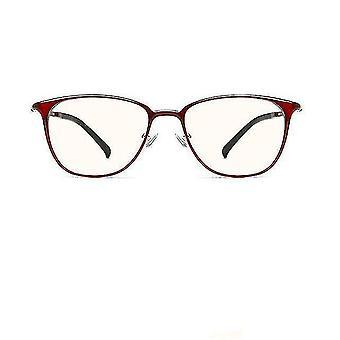 Eyeglasses anti blue light computer glasses  anti fatigue ts red