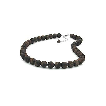 Necklace Baroque Beads 12mm Brown 50cm 45139 45139 45139