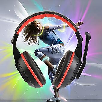 3,5 mm regulowane słuchawki do gier Stereo Noise-canceling Zestaw słuchawkowy komputera