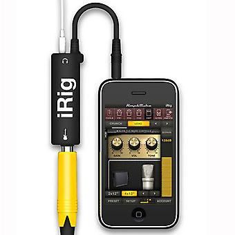 Irig multimedia gitar adapter grensesnitt for iphone ipad ipod