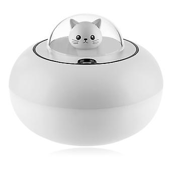 Silktaa Cute Cat Humidificateur Usb Home Desktop Purificateur d'air muet