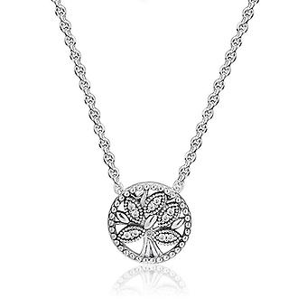 Tree Of Life Pendant Necklaces For Women Chain Choker 925 Sterling Silver Necklaces Necklaces