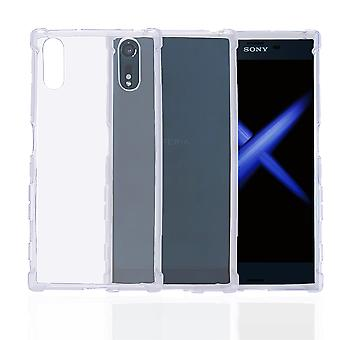 32nd Tough Gel case + stylus for Sony Xperia XZ - Clear