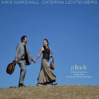 Marshall, Mike / Lichtenberg, Caterina - Js Bach [CD] USA import