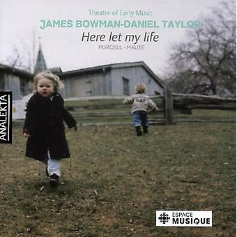 Theatre of Early Music - Here Let My Life [CD] USA import