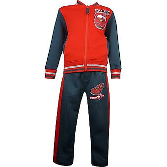 Boys Disney Carsning McQueen Tracksuit Jogging Suit HO1566