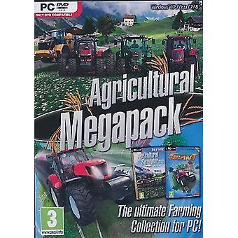 Agrícolas Mega Pack PC DVD juego