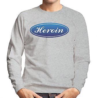 Trainspotting T2 Heroin Ford Logo mænds Sweatshirt