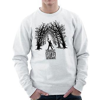The Comeback Ash Vs Evil Dead Straight Outta Retirement Men's Sweatshirt