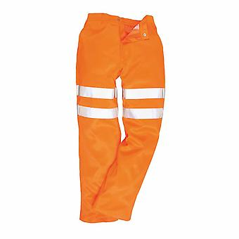 sUw - Hi-Vis Workwear Poly-cotton Rail Track Trousers