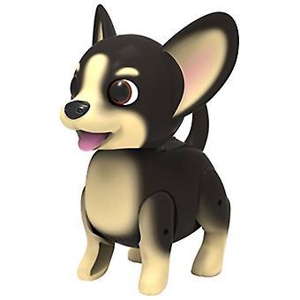 Cutesy cane domestico - nero & bianco