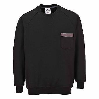 Portwest - Texo Classic Workwear confort uniforme élégant contraste pull
