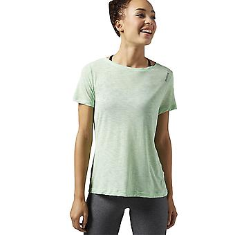 リーボック Wor ライト スラブ t シャツ AJ3417 普遍的なすべての年の女性 t シャツ