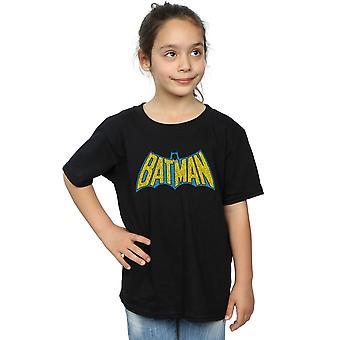 DC Comics ragazze Batman Crackle Logo t-shirt