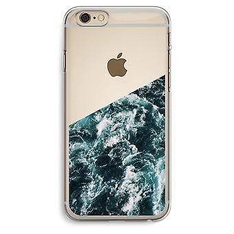 iPhone 6 Plus / 6S Plus transparant Case (Soft) - Ocean Wave