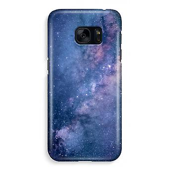 Samsung S7 Full Print Case - Nebula
