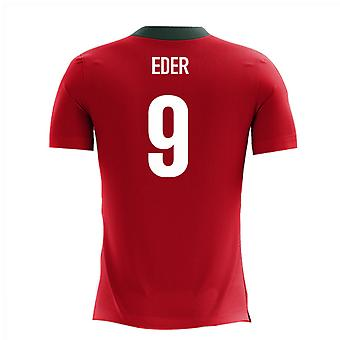 2020-2021 Portugal Airo Concept Home Shirt (Eder 9) - Kids