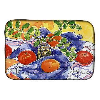 Carolines Treasures  6047DDM Apples Dish Drying Mat