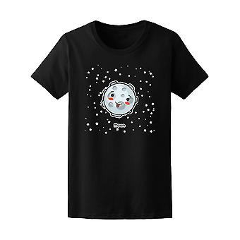 Kawaii Space Moon Planets Tee - Image by Shutterstock
