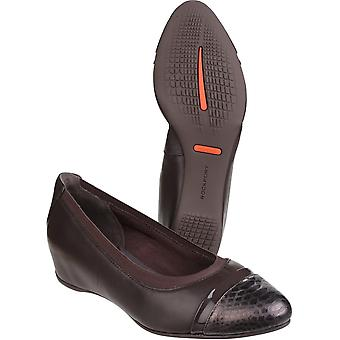Rockport Womens/Ladies Total Motion Esha Slip on Wedge Pumps