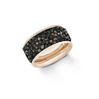 s. Oliver gioiello donna anello in acciaio rosato 201257
