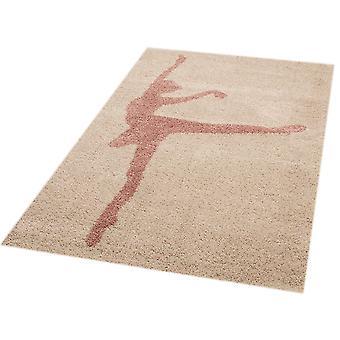 Play mat for kids ballerina Stella 120 x 170 cm. Carpet nursery