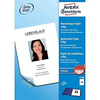 Avery-Zweckform 2788 Job application paper A4 100 g/m² 200 sheet White