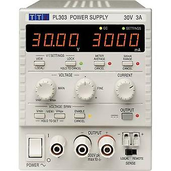 Aim TTi PL303 Bench PSU (adjustable voltage) 0 - 30 V DC 0 - 3 A 90 W No. of outputs 1 x