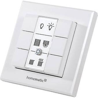 Homematic IP Wireless Wall switch HmIP-WRC6