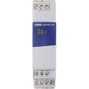 Jumo 00454470 dTRANS T04 Four-wire Measuring Transducer DTrans T04