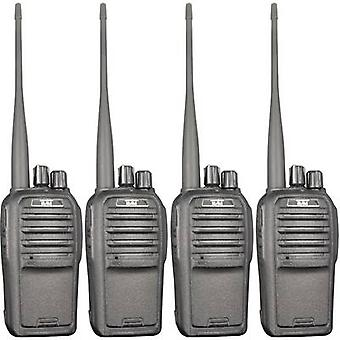 Team Electronic TeCom-SL PR8571 PMR handheld transceiver 4-piece set