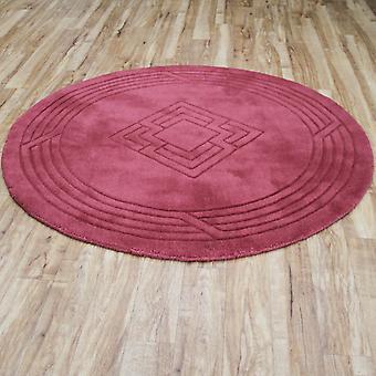 Okrągłe dywany diament w Rose