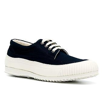 Hogan mænds lave top sneakers sko i blå babric