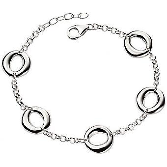 Beginnings Open Circle Organic Bracelet - Silver