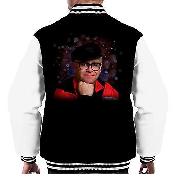 TV Times Elton John Smile Men's Varsity Jacket
