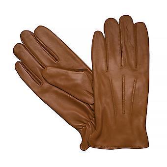 LLOYD mens gants gants chèvre cuir Cognac 7629