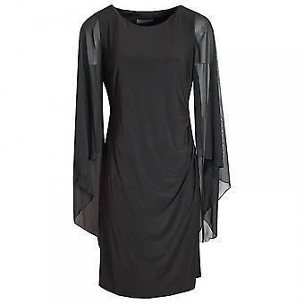 Michaela Louisa Long Floating Sleeve Shift Dress