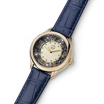Oliver Weber Watch klipper stål Leatherstrap