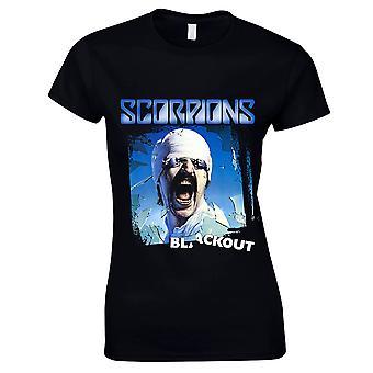 Scorpions-Blackout T-Shirt, women