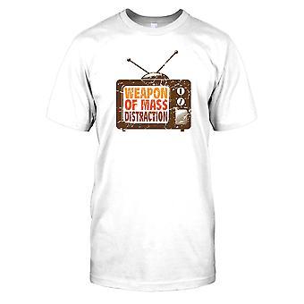 TV - våpen av masseødeleggelsesvåpen - konspirasjon Mens T-skjorte