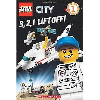 LEGO City: 3, 2, 1 abheben! (Scholastic Reader - Stufe 1
