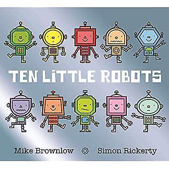 Tien kleine Robots (tien weinig)