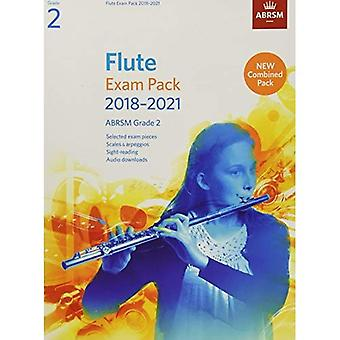 Fluit examen Pack 2018-2021, ABRSM Grade 2: Geselecteerd uit de syllabus 2018-2021. Score & deel, Audio Downloads, schalen & zichtlezen (ABRSM examen stuks)