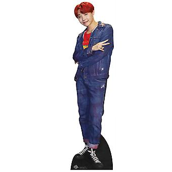 J-Hope from BTS Bangtan Boys Mini Cardboard Cutout / Standee / Standup