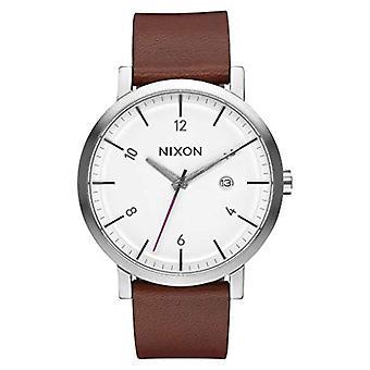 Nixon Analog quartz men's watch with leather A945-2168-00