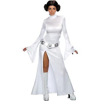 Star Wars prinsesse Leia Adult kostyme
