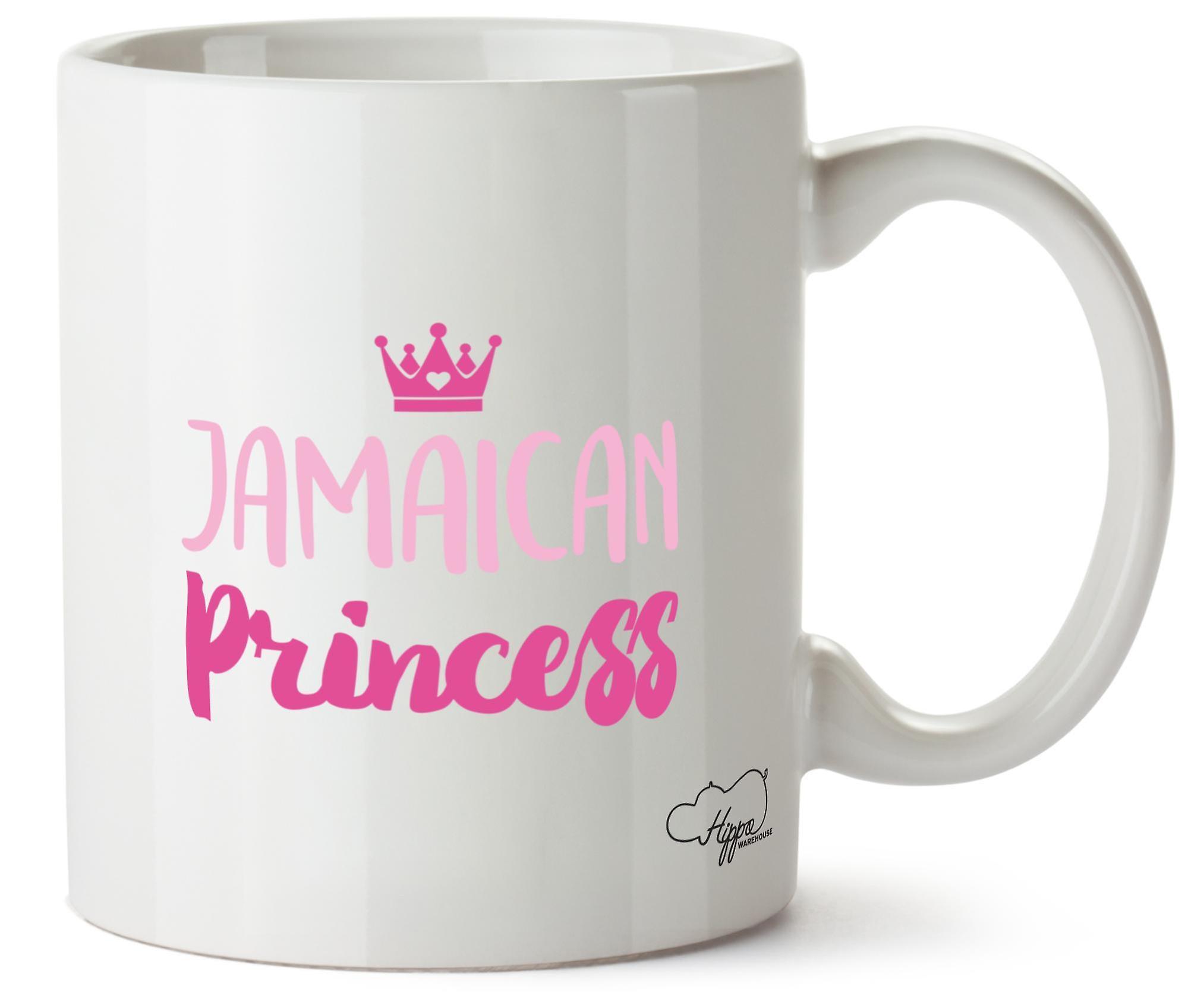 Hippowarehouse Ямайки принцесса 10oz кружка Кубок