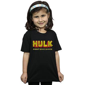 Staunen Sie, dass Mädchen AKA Robert Bruce Banner T-Shirt Hulk