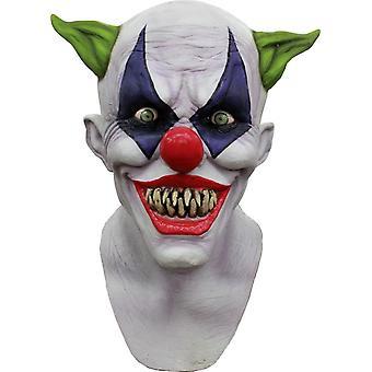 Creepy chichocze lateksowe maski na Halloween
